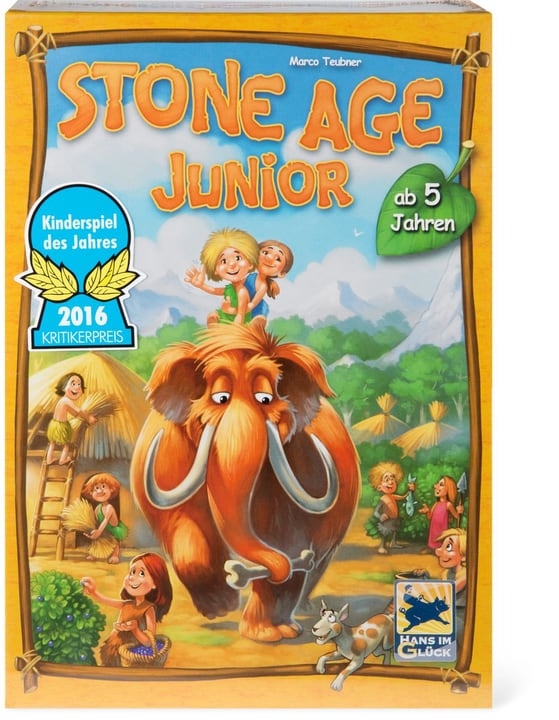 Stone Age Junior (D) 748911790000 Lengua Tedesco N. figura 1