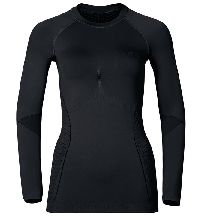 Evolution Warm Trend Maillot à manches longues pour femme Odlo 477065400220 Couleur noir Taille XS Photo no. 1