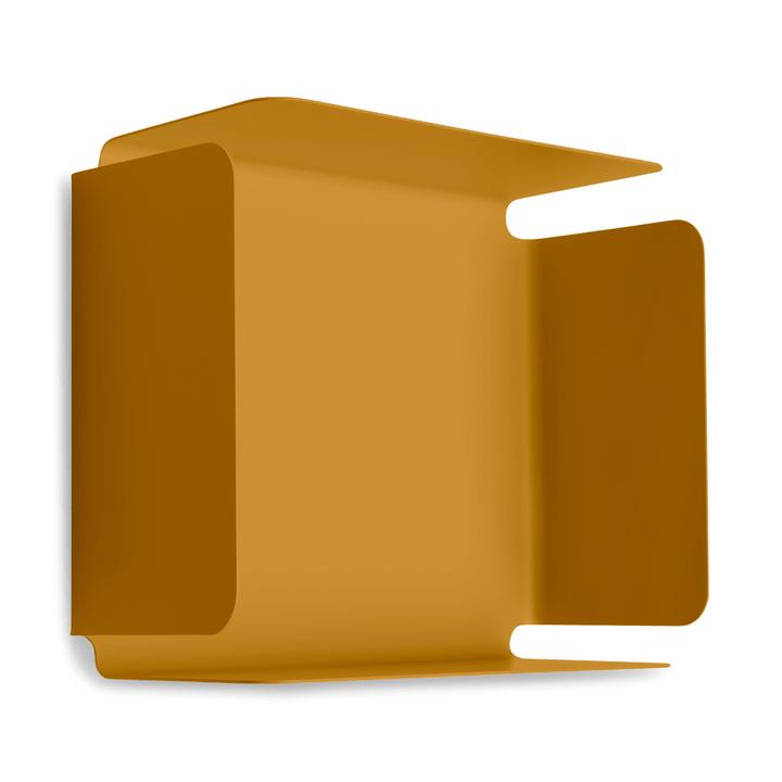 EVELINA Scaffale a muro 362245803250 Colore Giallo Dimensioni L: 12.8 cm x P: 32.0 cm x A: 26.0 cm N. figura 1