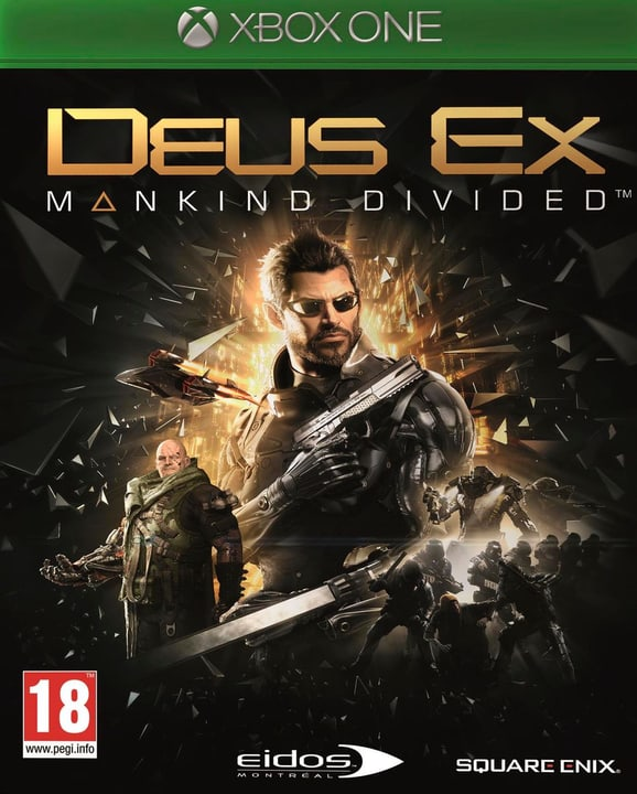 Xbox One - Deus Ex: Mankind Divided (Day One Edition) Box 785300120722 Photo no. 1