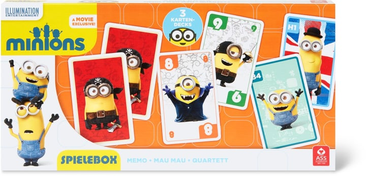 Minions 3 in 1 Spielebox (FSC®) 747436000000 Photo no. 1