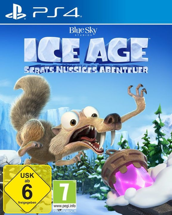PS4 - Ice Age: Scrats Nussiges Abenteuer Box 785300146077 Photo no. 1