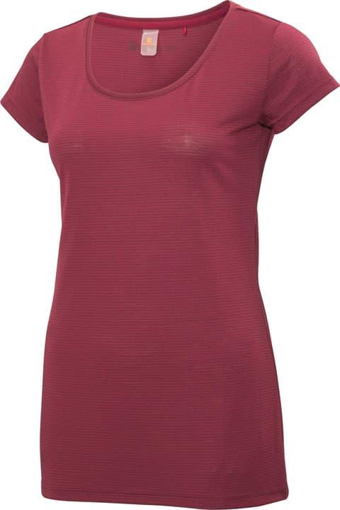 Stripes Shirt T-shirt à manches courtes Trevolution 461098704288 Couleur bordeaux Taille 42 Photo no. 1