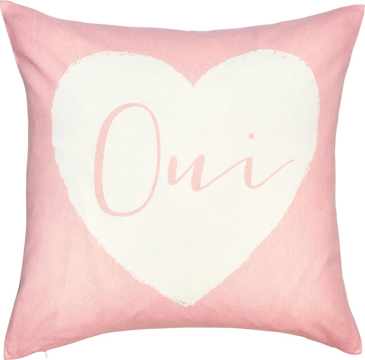 JULEN Fodera per cuscino decorativo 450760340838 Colore Rosa Dimensioni L: 45.0 cm x A: 45.0 cm N. figura 1