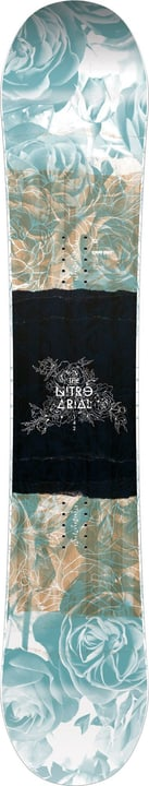 Arial Snowboard Nitro 494548613841 Couleur bleu claire Longueur 138 Photo no. 1