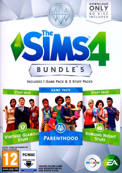 PC - The Sims 4 - Bundle 5 Box 785300128657 Photo no. 1