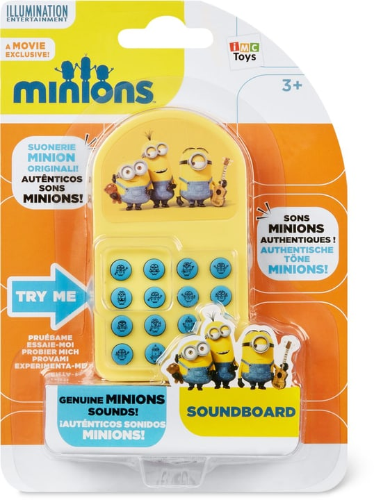 Minions Soundboard 748645400000 Photo no. 1