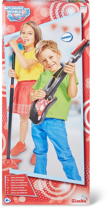 MMW Guitare avec microphone de stand 745186000000 Photo no. 1