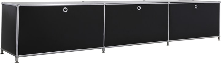 FLEXCUBE Buffet bas 401813530120 Dimensions L: 227.0 cm x P: 40.0 cm x H: 44.5 cm Couleur Noir Photo no. 1