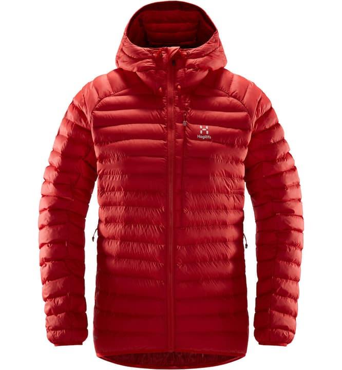 ESSENS Mimic Hood Giacca isolante da donna Haglöfs 462703400331 Colore rosso chiaro Taglie S N. figura 1