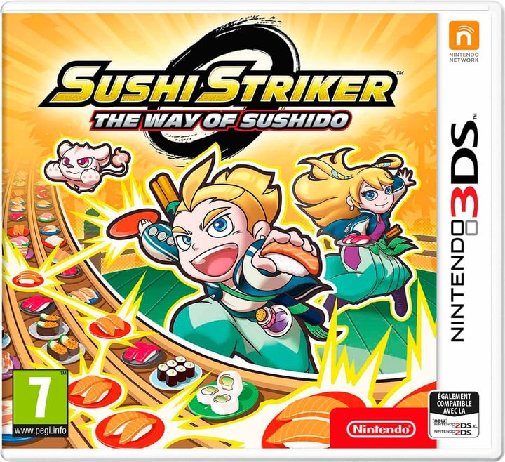 3DS - Sushi Striker: The Way of Sushido (F) Box 785300134075 Bild Nr. 1