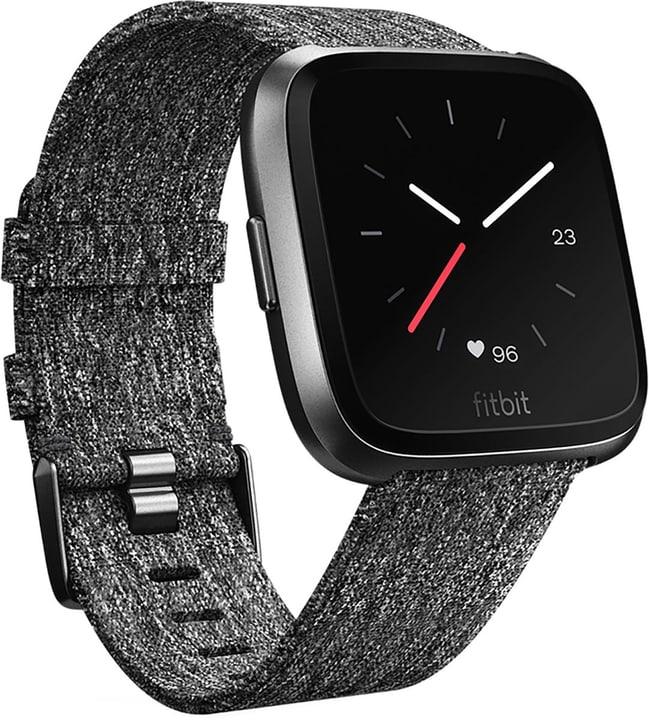 Versa - Charcoal Woven/Aluminium Graphite Grey Special Edition Smartwatch Fitbit 798433200000 Photo no. 1