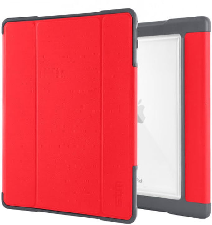 "Dux Plus - Case für iPad Pro 10.5"" - Rot/Transparent STM 785300132883 Bild Nr. 1"