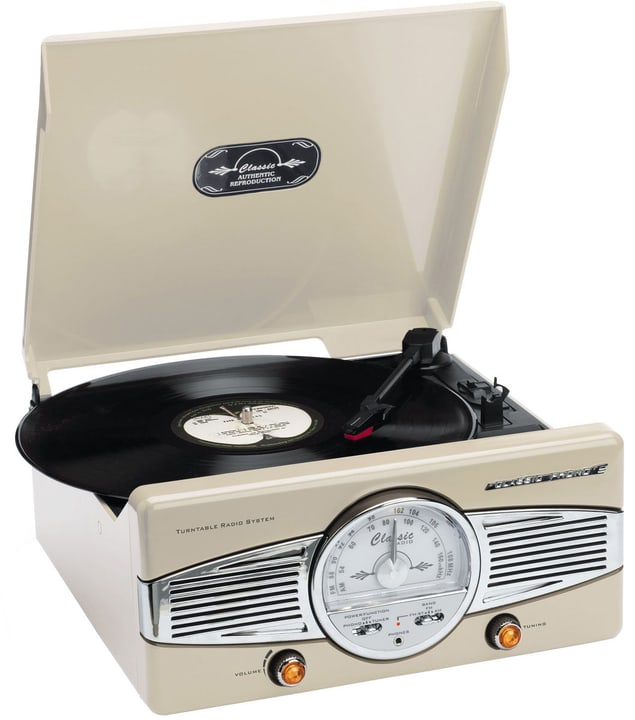 TT-28 - Cream Plattenspieler Lenco 785300148637 Bild Nr. 1