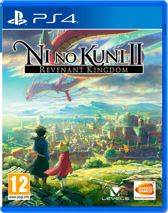 PS4 - Ni No Kuni 2: Revenant Kingdom Fisico (Box) 785300129385 N. figura 1