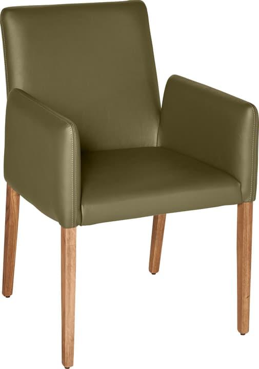 PIRAS Chaise 402358000065 Dimensions L: 58.0 cm x P: 55.0 cm x H: 86.0 cm Couleur Olive Photo no. 1