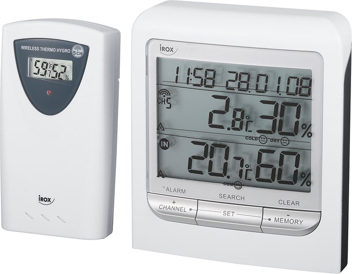 Thermo/hygromètre sans fil HTG79 Irox 602751300000 Photo no. 1