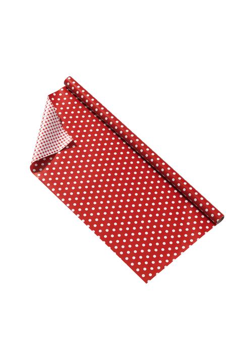 PUNKTE Geschenkpapier 440614700730 Farbe Rot Grösse B: 70.0 cm Bild Nr. 1