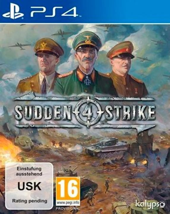 PS4 - Sudden Strike 4 Box 785300122078 Photo no. 1