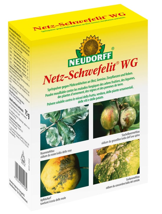 Soufre mouillable WG, 75 g Neudorff 658415700000 Photo no. 1