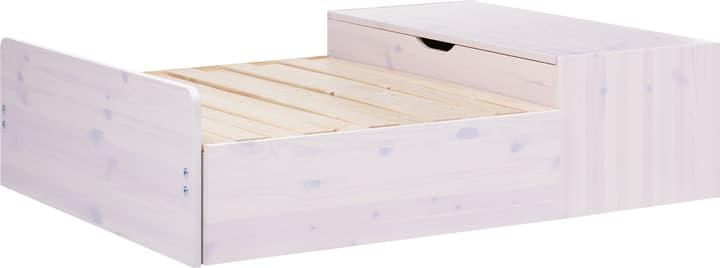 CLASSIC Lit-banquette avec tiroir àliterie Flexa 404919800000 Dimensions L: 94.5 cm x P: 118.0 cm x H: 32.0 cm Couleur White Wash Photo no. 1