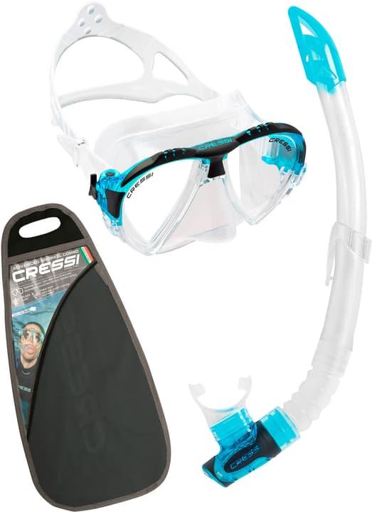 Matrix Maske + Gamma Schnorchel VIP set snorkeling Cressi 491055400000 N. figura 1