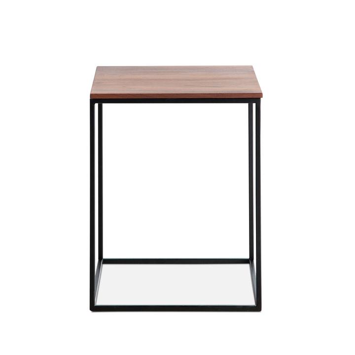 COFFEE Tavolini 360972400000 Colore Noce Dimensioni L: 40.0 cm x P: 40.0 cm x A: 51.0 cm N. figura 1