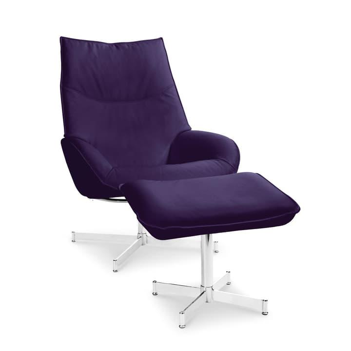 DAHLIA Sessel und Hocker 360010347411 Grösse B: 73.0 cm x T: 87.0 cm x H: 104.0 cm Farbe Violett Bild Nr. 1