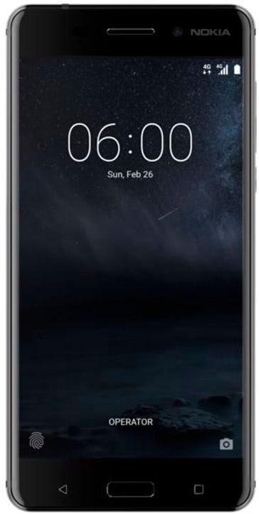 6 Dual-Sim schwarz Smartphone Nokia 794621000000 Bild Nr. 1