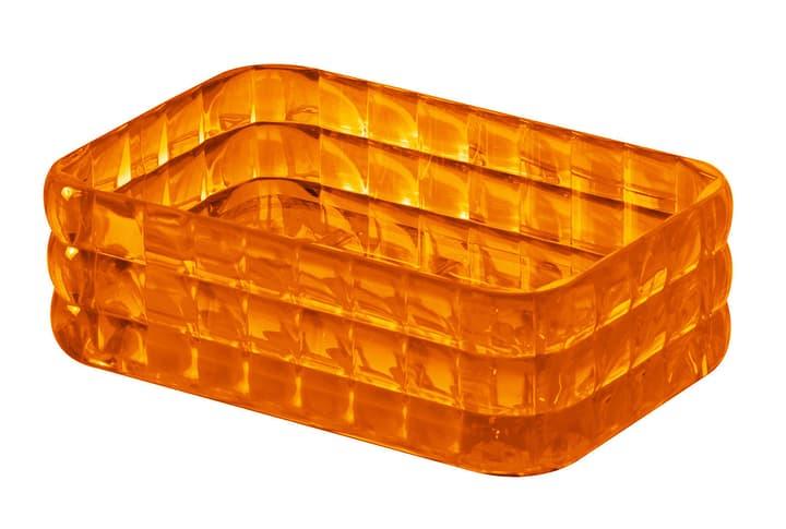 Portasapone Glady diaqua 675008600000 Colore Arancione Taglio 13 X 8 X 4 CM N. figura 1