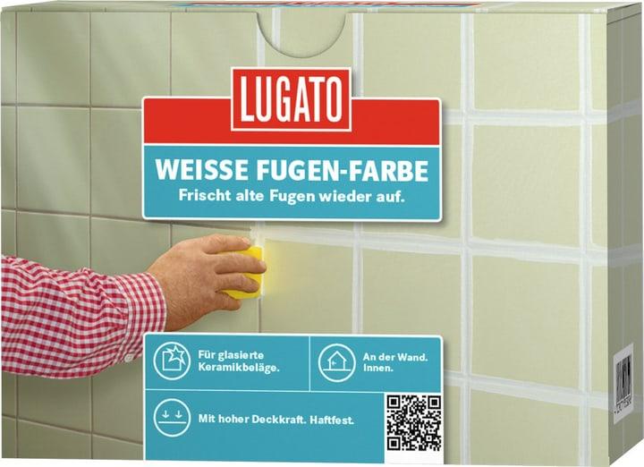 Weisse Fugen-Farbe 250 ml Lugato 676052600000 Bild Nr. 1