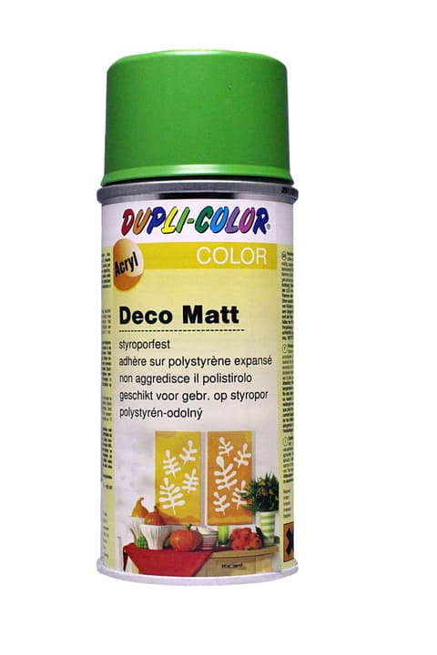 Peinture en aérosol deco mat Dupli-Color 664810021001 Couleur Vert jaune Photo no. 1