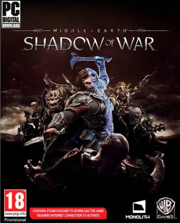 PC - Middle-Earth Shadow of War Box 785300122361 Photo no. 1