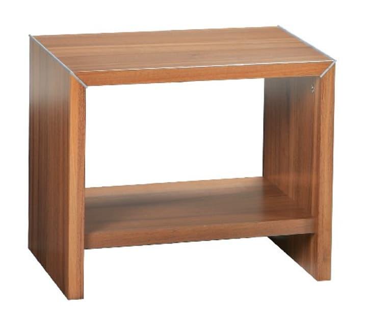 PERO Table de chevet HASENA 403128585234 Dimensions L: 45.0 cm x P: 35.0 cm x H: 38.0 cm Couleur Noyer Photo no. 1