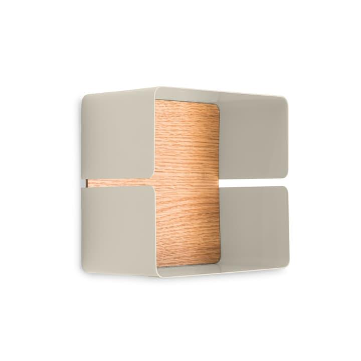 EVELINA Scaffale a muro 362245602012 Dimensioni L: 12.8 cm x P: 20.0 cm x A: 20.0 cm Colore Crema N. figura 1