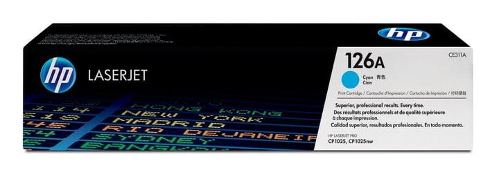 Toner-Modul 126A 1000 Seiten cyan HP 797585100000 Bild Nr. 1