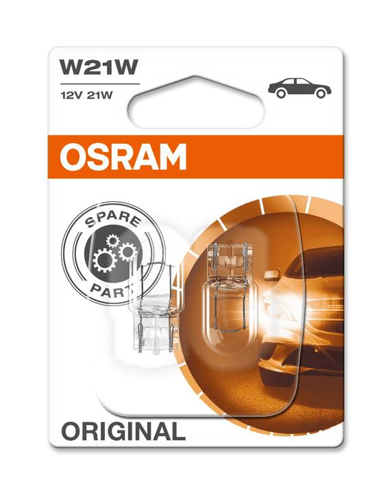 Original W21W W3x16D 2 pcs. Ampoule Osram 620476100000 Photo no. 1