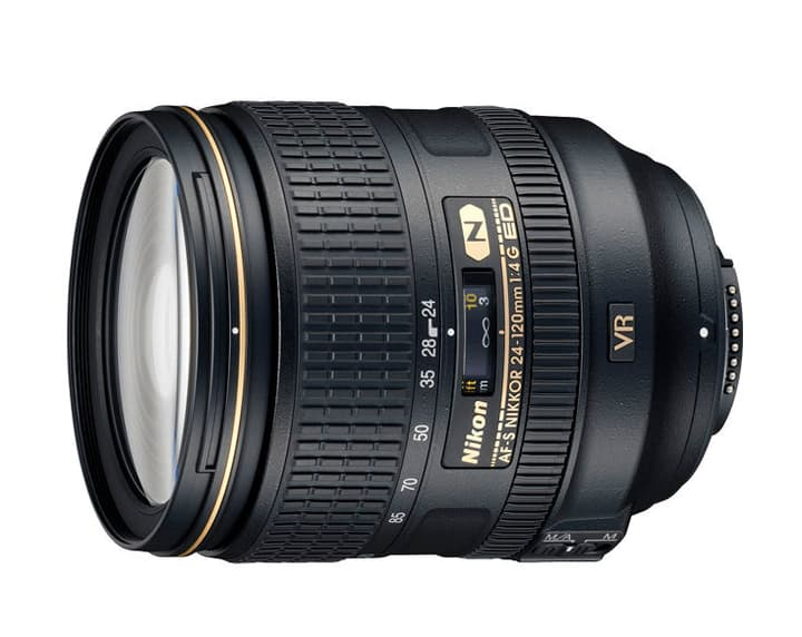 Nikkor AF-S 24-120mm/4G ED VR Objectif Objectif Nikon 793412800000 Photo no. 1