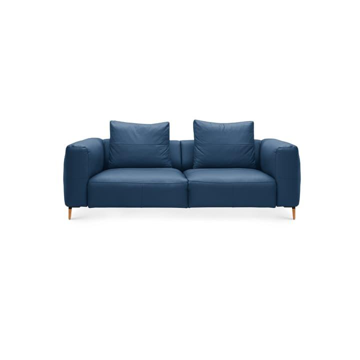 LOUIE Canapé 2.5 places 360512725740 Dimensions L: 214.0 cm x P: 100.0 cm x H: 69.0 cm Couleur Bleu Photo no. 1