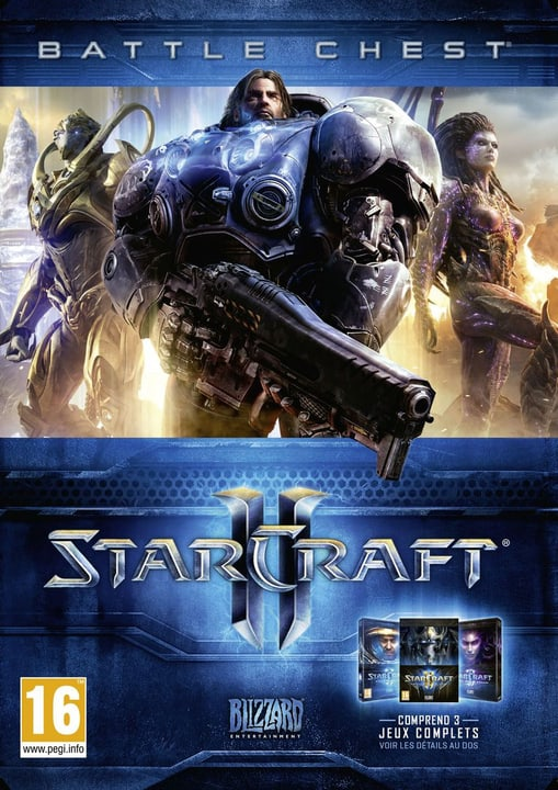 PC - Starcraft II Battlechest 2.0 Box 785300121591 Photo no. 1
