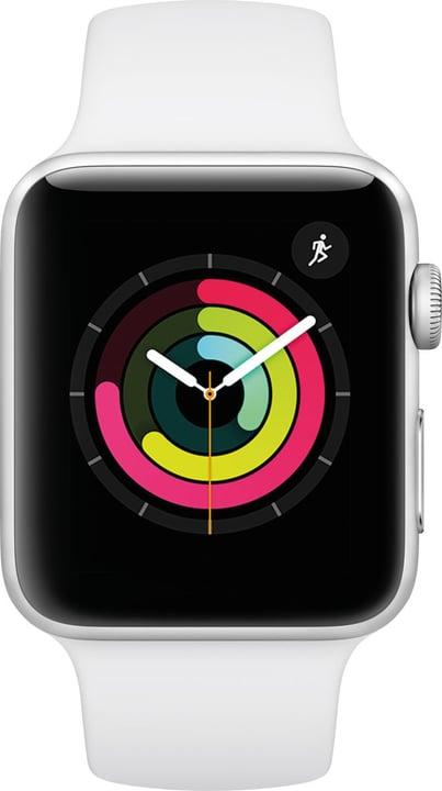 Watch Series3 GPS 42mm Silver Aluminium Case White Sport Band Smartwatch Apple 785300139129 Photo no. 1
