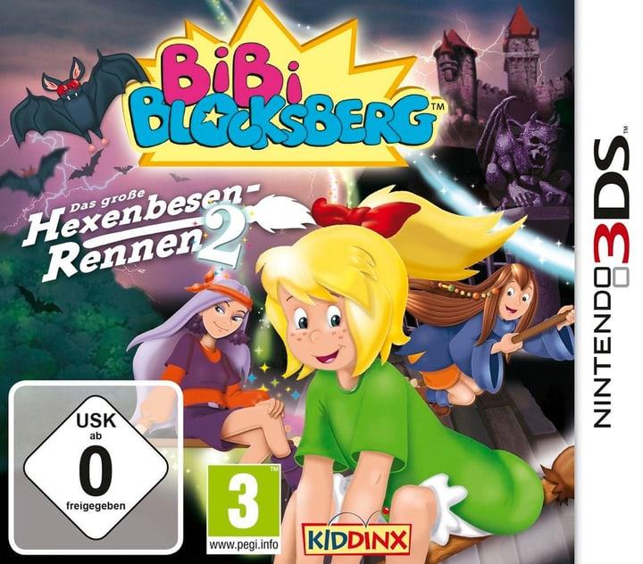 3DS - Bibi Blocksberg: Das Grosse Hexenbesen-Rennen 2 (D) Fisico (Box) 785300133163 N. figura 1