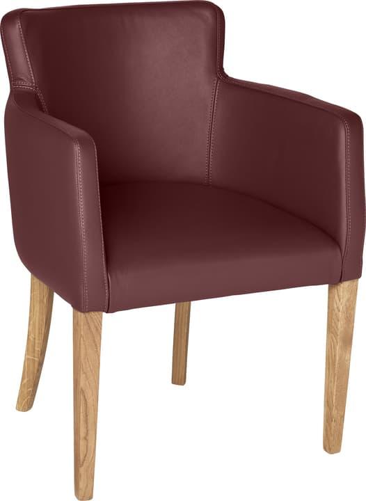 MORISANO Stuhl 402358300034 Grösse B: 56.0 cm x T: 46.0 cm x H: 79.0 cm Farbe Bordeaux Bild Nr. 1