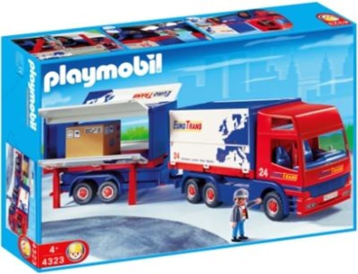 ersatzteile  zubehör zu playmobil® 0109 xl playmobil lkw