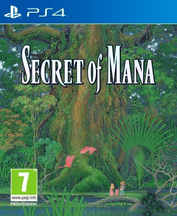 PS4 - Secret of Mana (E/I) Physique (Box) 785300131989 Photo no. 1