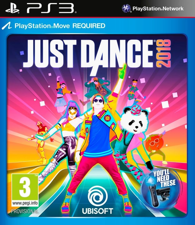 PS3 - Just Dance 2018 Fisico (Box) 785300128776 N. figura 1