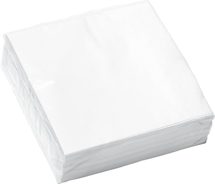 PAPER Tovaglioli di carta 440286703310 Colore Bianco / Blu Dimensioni L: 33.0 cm x P: 33.0 cm N. figura 1