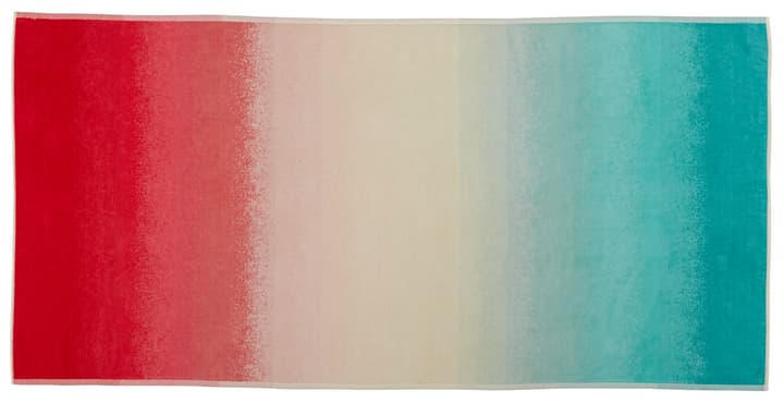 AURORA Serviette de plage 450857022544 Couleur Turquoise Dimensions L: 90.0 cm x H: 180.0 cm Photo no. 1