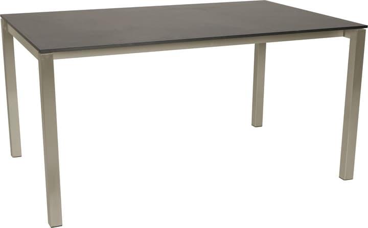 KANO, struttura acciaio, piano HPL Tavolo 753194320083 Taglio L: 200.0 cm x L: 95.0 cm x A: 74.0 cm Colore Dark grey N. figura 1