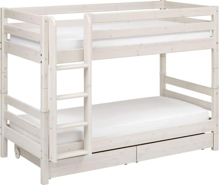 CLASSIC Etagenbett Flexa 404960800000 Grösse B: 110.0 cm x T: 210.0 cm x H: 154.0 cm Farbe White Wash Bild Nr. 1